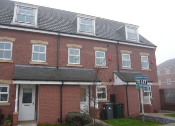 Thumbnail 3 bed town house to rent in Nunnington Way, Kirk Sandall, Doncaster