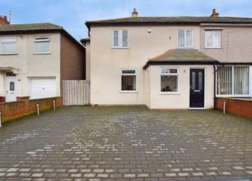 Thumbnail 4 bed semi-detached house for sale in Central Avenue, Amble, Northumberland