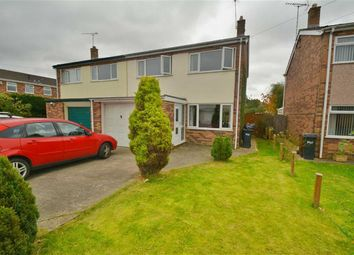 Thumbnail 3 bed semi-detached house for sale in St. Davids Close, Buckley
