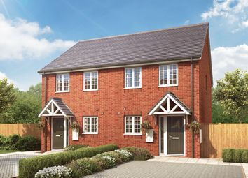 """Thumbnail 2 bedroom semi-detached house for sale in """"The Hallaton"""" at Loughborough Road, Rothley, Leicester"""