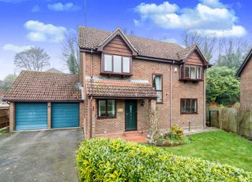 Thumbnail 4 bed detached house for sale in Glebe Meadow, Overton, Basingstoke