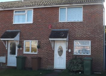 Thumbnail 2 bedroom terraced house for sale in Shelley Way, Thetford