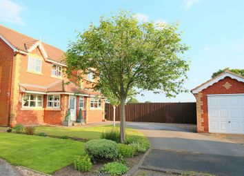 Thumbnail 4 bed detached house for sale in Blunstone Close, Crewe