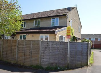 Thumbnail 2 bedroom end terrace house for sale in Stodelegh Close, Worle, Weston-Super-Mare