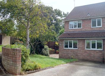 Thumbnail 3 bed semi-detached house for sale in Cannington Close, Sully, Penarth