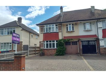 Thumbnail 3 bed semi-detached house for sale in Wickham Road, Croydon/Shirley Borders
