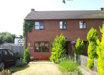 Thumbnail 3 bed semi-detached house for sale in Bromsberrow Heath, Ledbury