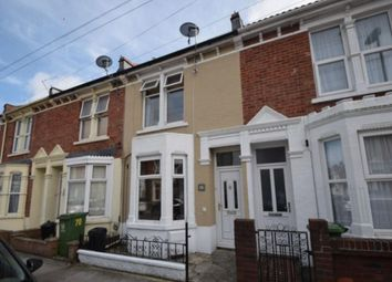 Thumbnail 2 bed terraced house for sale in Kingsley Road, Southsea