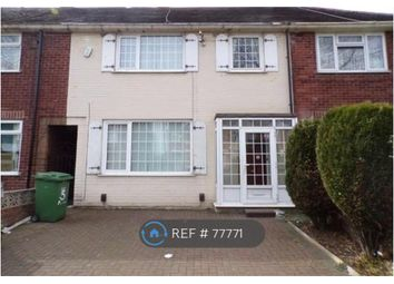 Thumbnail 3 bed terraced house to rent in Moss Road, Manchester