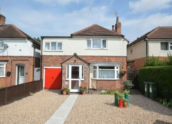 Thumbnail 3 bed detached house for sale in Hillsborough Road, Glen Parva, Leicester