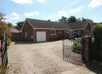 Thumbnail 3 bed detached bungalow for sale in Lawrences Lane, Hilgay, Downham Market