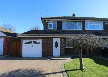 Thumbnail 3 bed semi-detached house for sale in Brookside Road, Gravesend, Kent