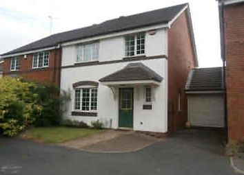 Thumbnail 4 bed link-detached house to rent in Tyburn Road, Pype Hayes, Birmingham