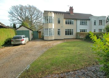 Thumbnail 4 bed semi-detached house for sale in Briardale Road, Willaston, Neston
