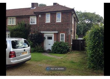 Thumbnail 3 bed end terrace house to rent in Field Close, Southampton