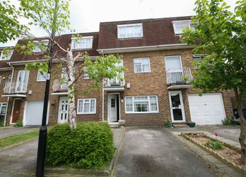 Thumbnail 4 bed town house for sale in Rowan Close, London