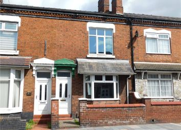 Thumbnail 3 bed terraced house for sale in West Street, Crewe, Cheshire