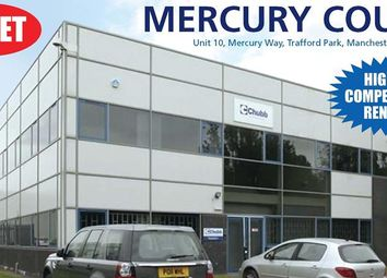 Thumbnail Office to let in Unit 10, Mercury Court, Mercury Way, Trafford Park, Manchester