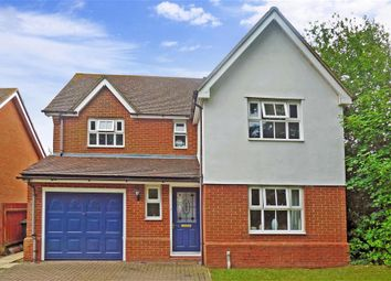 Thumbnail 4 bed detached house for sale in Linden Road, Chartham, Canterbury, Kent