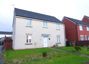 Thumbnail 4 bed detached house for sale in Knights Walk, Caerphilly