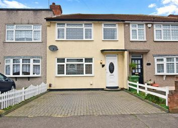 Thumbnail 3 bed terraced house for sale in Woburn Avenue, Hornchurch, Essex