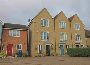 Thumbnail 3 bed town house for sale in Stokes Drive, Godmanchester