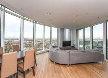 Thumbnail 3 bed flat for sale in Ireton House, 3 Stamford Square, London
