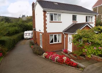 Thumbnail 4 bed detached house for sale in Varteg Row, Bryn, Port Talbot, Neath Port Talbot.