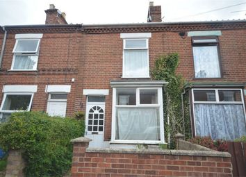 Thumbnail 3 bed terraced house for sale in Vicarage Road, Norwich
