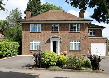 Thumbnail 3 bed detached house for sale in Warren Road, Bushey Heath