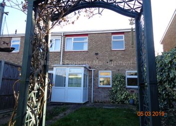 Thumbnail 3 bedroom end terrace house to rent in Viscount Court, Eaton Socon, St. Neots