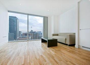 Thumbnail 1 bedroom flat to rent in Landmark East Tower, London