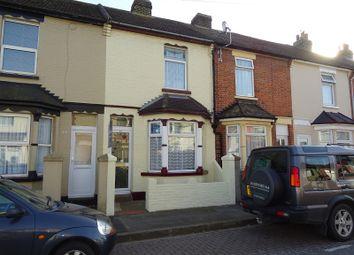 Thumbnail 2 bedroom terraced house to rent in Eva Road, Gillingham, Kent.