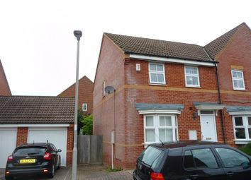 Thumbnail 3 bedroom semi-detached house to rent in Laurel Gardens, Greenham, Thatcham