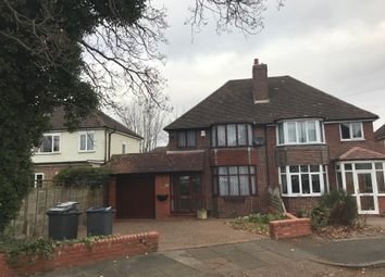 Thumbnail 3 bed semi-detached house to rent in Temple Avenue, Hall Green
