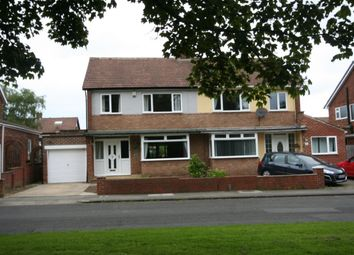 Thumbnail 3 bed semi-detached house for sale in Marrick Road, Stockton-On-Tees