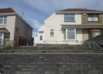 Thumbnail 2 bed semi-detached house for sale in Eigen Crescent, Mayhill, Swansea, City And County Of Swansea.