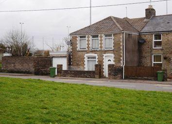 Thumbnail 3 bed semi-detached house for sale in Newbridge Road, Llantrisant, Pontyclun