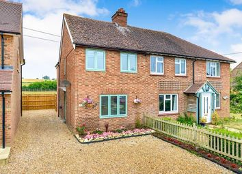 Thumbnail 3 bed semi-detached house for sale in High Street, Haversham, Milton Keynes, Buckinghamshire