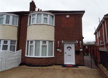 Thumbnail 3 bed semi-detached house to rent in Pauline Avenue, Leicester