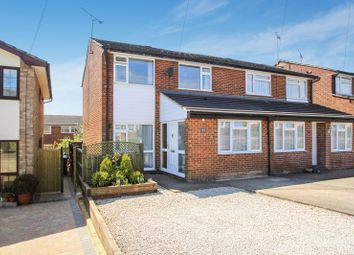 Thumbnail 3 bed semi-detached house for sale in Columbine Road, Widmer End, High Wycombe