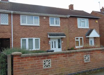 Thumbnail 3 bed terraced house to rent in Eddystone Road, Leicester