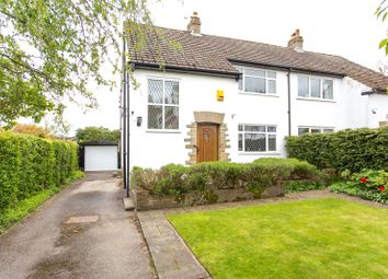 Thumbnail 3 bedroom semi-detached house for sale in Farrar Lane, Adel, Leeds, West Yorkshire