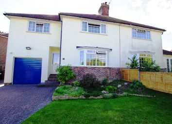 Thumbnail 4 bed semi-detached house for sale in Mount Harry Road, Lewes