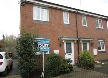 Thumbnail 2 bed semi-detached house to rent in Booth Road, Banbury, Oxfordshire