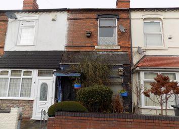 Thumbnail 3 bedroom terraced house for sale in Brantley Road, Witton, Birmingham