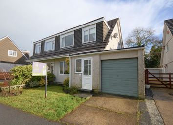 Thumbnail 3 bed semi-detached house for sale in Oak Road, Tavistock