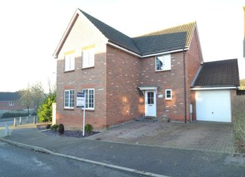 Thumbnail 4 bedroom detached house for sale in Turner Close, Sudbury