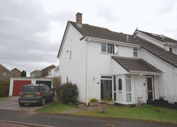 Thumbnail 2 bed end terrace house for sale in Tapson Drive, Turnchapel, Plymouth. Exceptional Residential Location, 2 Bed House, Garage And Driveway