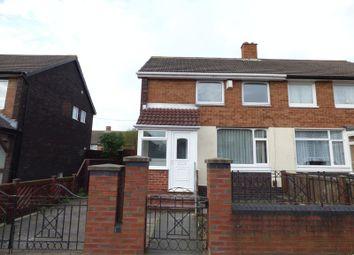 Thumbnail 2 bed semi-detached house to rent in Bradman Street, Sunderland